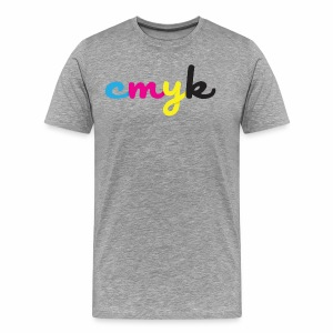CMYK for Graphic Design Lovers - Men's Premium T-Shirt