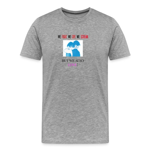 IAN & MICKEY - Men's Premium T-Shirt