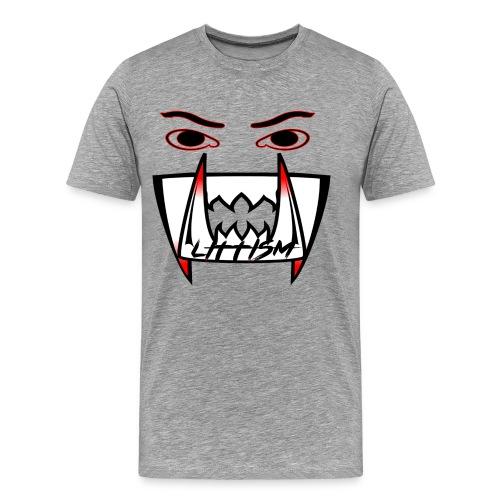 Littism Vampire Glory Face - Men's Premium T-Shirt