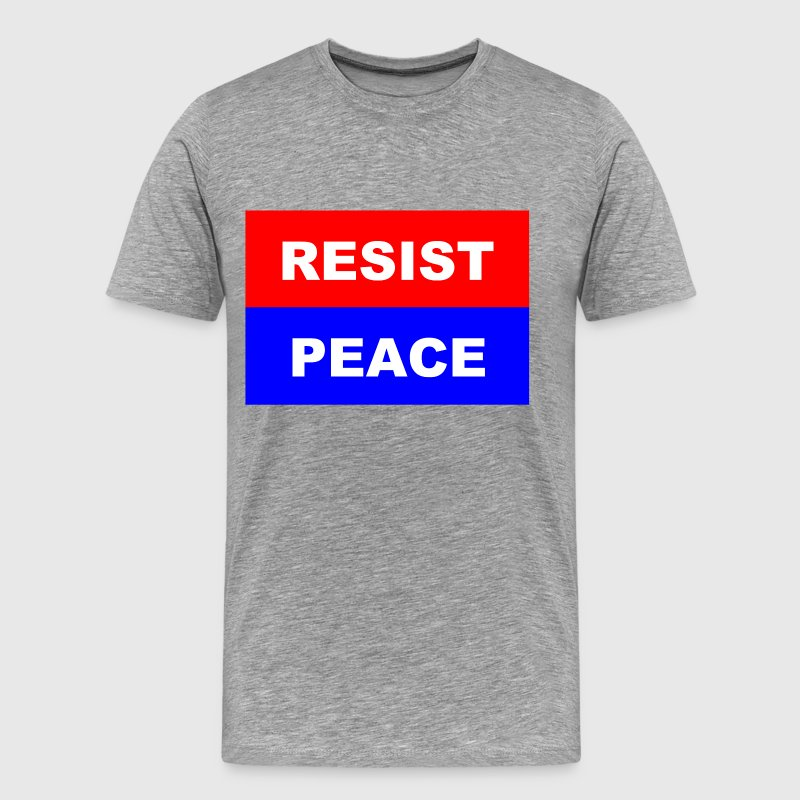 Resist-Peace - Men's Premium T-Shirt