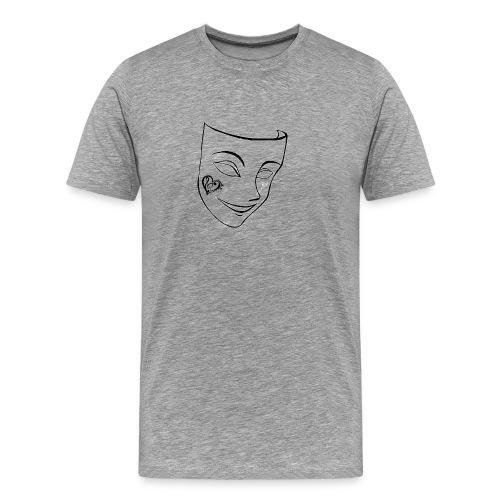 Transparent Mask - Men's Premium T-Shirt
