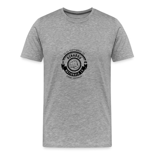 OzHadou Nationals 13 - Men's Premium T-Shirt