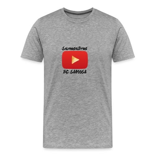 BC SAMOSA LOGO - Men's Premium T-Shirt