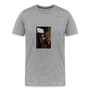 Key Lewis; Laughs Unlimited - Men's Premium T-Shirt