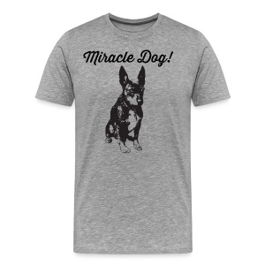 miracle dog - Men's Premium T-Shirt