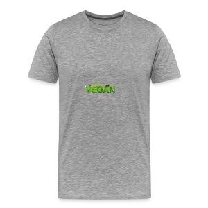 i am vegan - Men's Premium T-Shirt