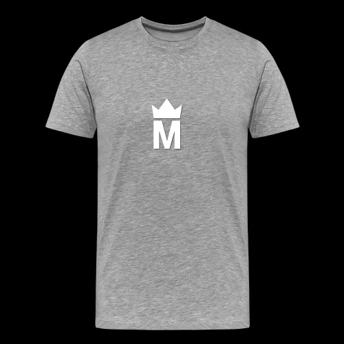 White Majesty Logo - Men's Premium T-Shirt
