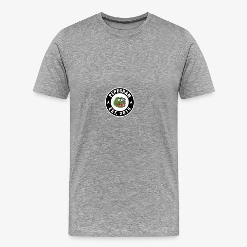 PepeGramApp - Men's Premium T-Shirt