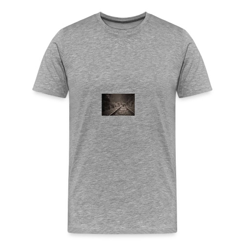 Railroad to freedom - Men's Premium T-Shirt