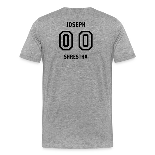 Joesph Shrestha's Jersey - Men's Premium T-Shirt