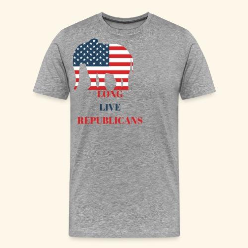 LONG LIVE REPUBLICANS - Men's Premium T-Shirt
