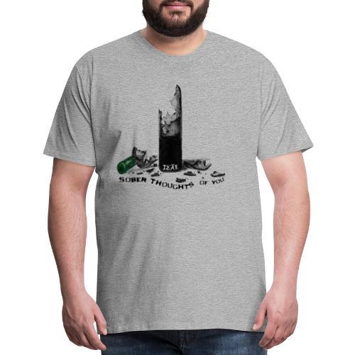SOBER MERCH - Men's Premium T-Shirt