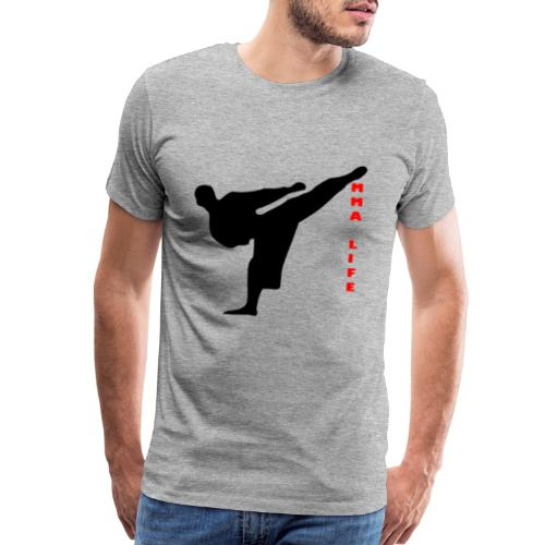 Mixed Martial arts such as MMA, BJJ by MMA LIFE - Men's Premium T-Shirt