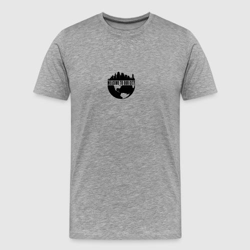 WTOC Logo Black - Men's Premium T-Shirt