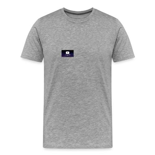 my life is youtube poster - Men's Premium T-Shirt