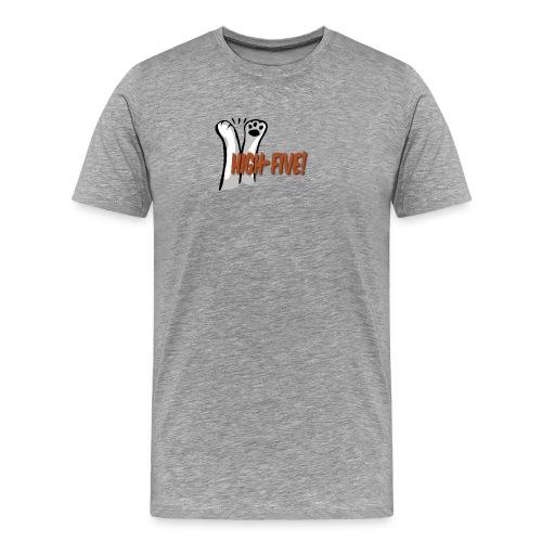 hi5 paws - Men's Premium T-Shirt