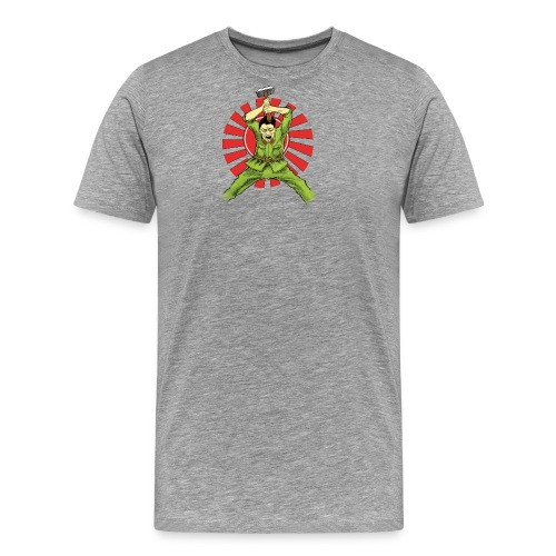 The Asian Warrior - Men's Premium T-Shirt