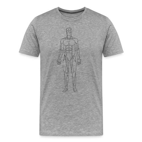 Geometric human - Men's Premium T-Shirt