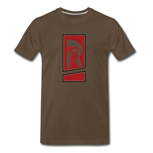 Review Spot Logo Red - Men's Premium T-Shirt