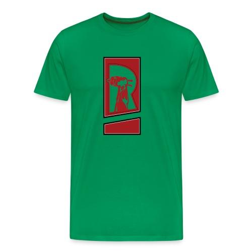 Review Spot Logo Red - Men's Premium T-Shirt
