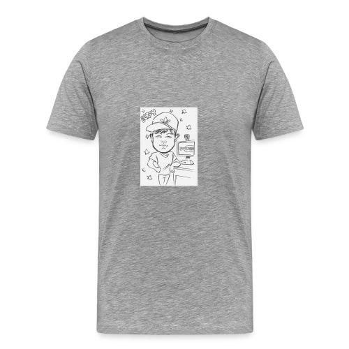 Elroy Sketch T-Shirt - Men's Premium T-Shirt