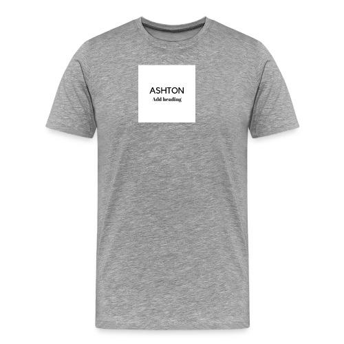 ASHTON BENNETT - Men's Premium T-Shirt
