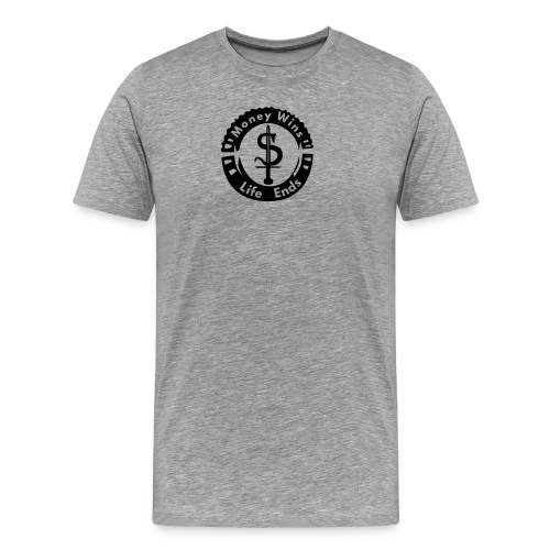 money_wins - Men's Premium T-Shirt