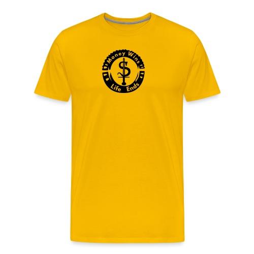 money_wins - Men's Premium T-Shirt