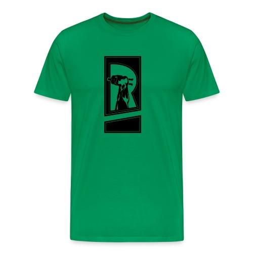 Review Spot Logo Black - Men's Premium T-Shirt