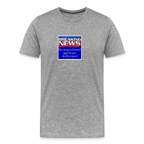 Isaiah 54:17 - Men's Premium T-Shirt