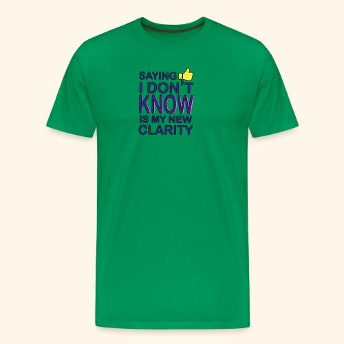 new clarity - Men's Premium T-Shirt