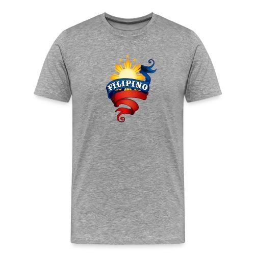 Filipino Logo - Men's Premium T-Shirt
