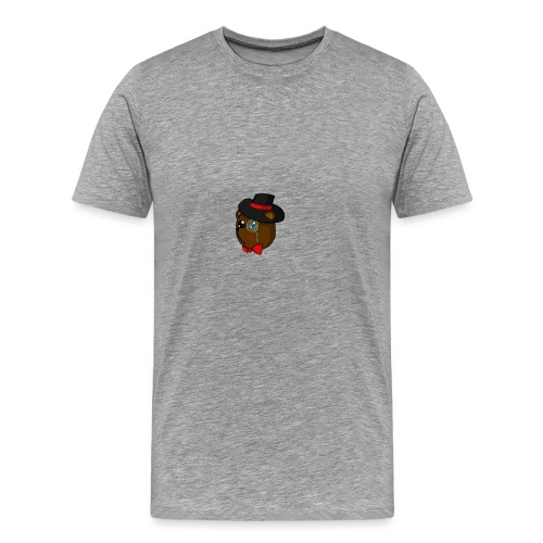 Bears in tophats - Men's Premium T-Shirt