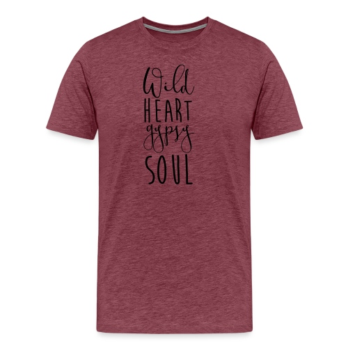 Cosmos 'Wild Heart Gypsy Sould' - Men's Premium T-Shirt