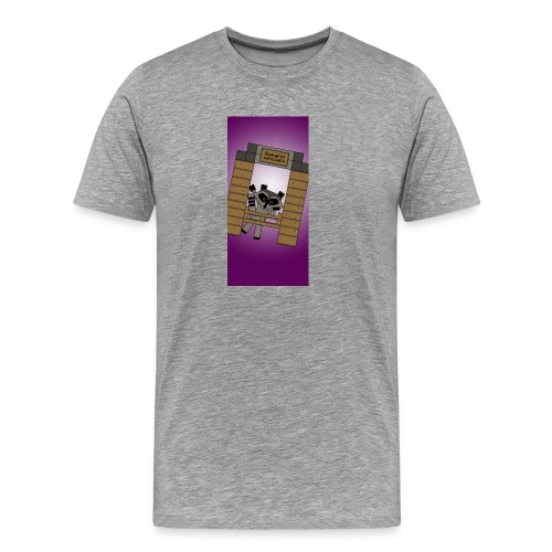 iphone5raccoon1 - Men's Premium T-Shirt
