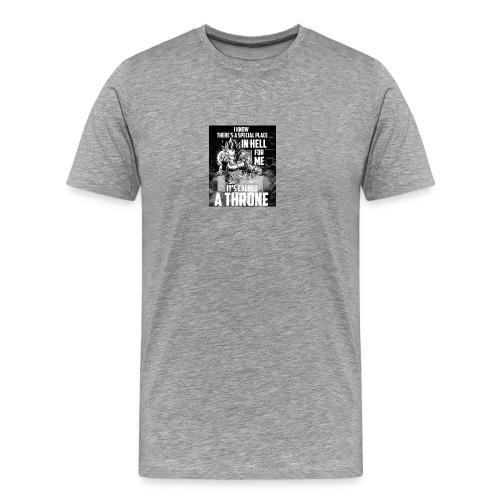 VEGETA KING OF HELL - Men's Premium T-Shirt