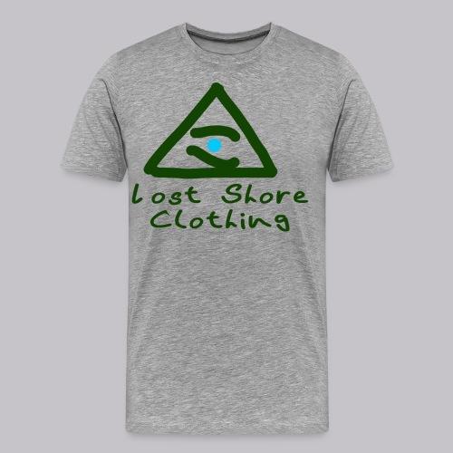 ░▒▓█ 𝐓𝐡𝐞 𝐒𝐞𝐞𝐢𝐧𝐠 𝐄𝐘𝐄 █▓▒░ - Men's Premium T-Shirt