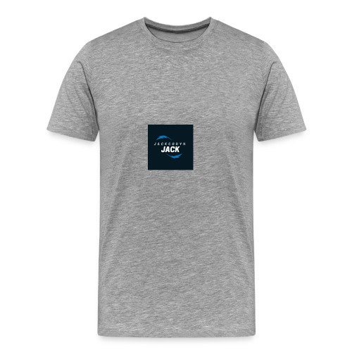 JackCodyH blue lightning bolt - Men's Premium T-Shirt