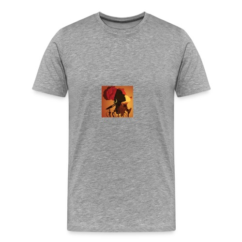 africa music - Men's Premium T-Shirt