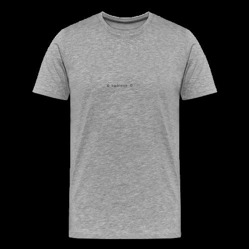 Sad buttons - Men's Premium T-Shirt