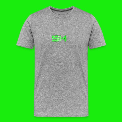 SloMotion logo - Men's Premium T-Shirt