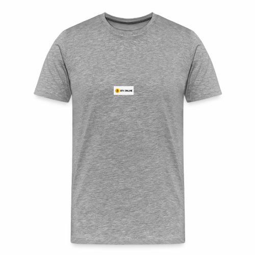 bitcointokenonline - Men's Premium T-Shirt