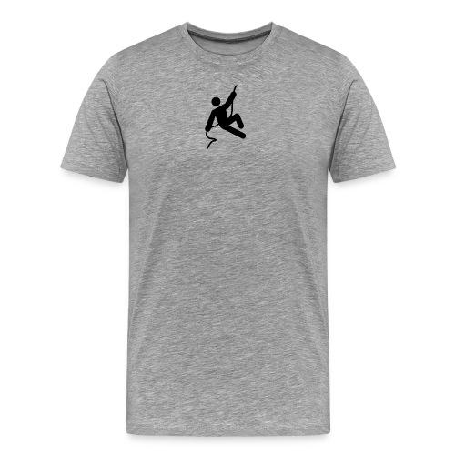 man on rope png - Men's Premium T-Shirt