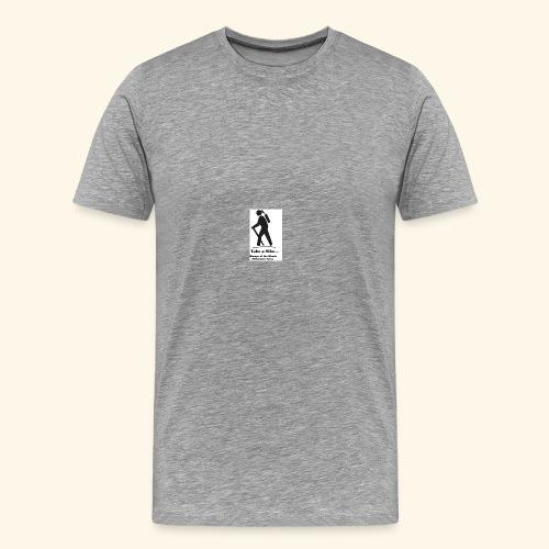 Womyn of the Woods Hiker Girl - Men's Premium T-Shirt