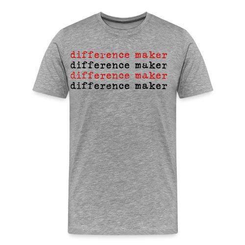Difference Maker - Men's Premium T-Shirt