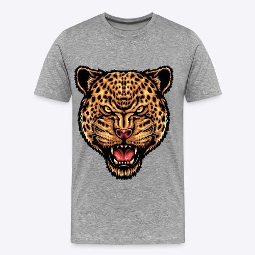 strength_and_focus_jaguar - Men's Premium T-Shirt
