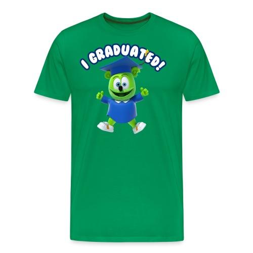 I Graduated! Gummibar (The Gummy Bear) - Men's Premium T-Shirt