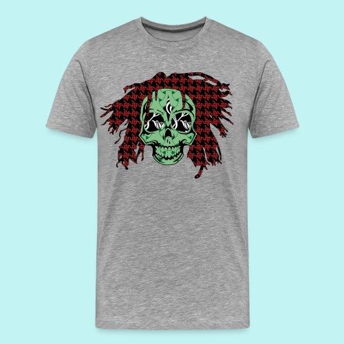 BOB MARLEY SKULLY - Men's Premium T-Shirt