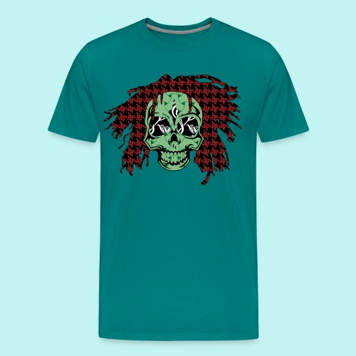 BOB MARLEY SKULLY - Men's Premium T-Shirt
