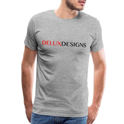 Delux Designs (black) - Men's Premium T-Shirt